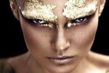 High Fashion Makeup Inspiration / A variety of make-up designs, styles and colors to add to high fashion looks in photography.