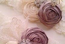 Inspirational wedding ideas..... / A little collection of ideas from the JMAsscher team, made up of specialists in the fields of wedding couture, floral design and decor, all backed up by our jewellery design expertise.