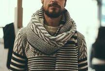 FOR HIM / Вдохновение, идеи, теплые вещи, свитера, шапки для него
