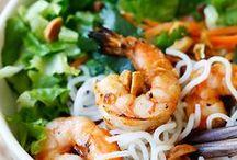 Üvegtészta, rizstészta receptek / Vermicelli, rice noodles recipes