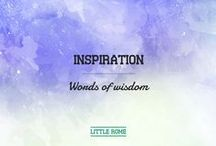 Inspiration | words