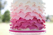 Beautiful Cakes / my Nan made beautiful wedding cakes, her talent unfortunately never passed onto me! / by Sue Brannlund