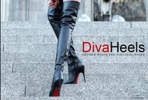 Boots / Diva #heels #boots / by elegantes75