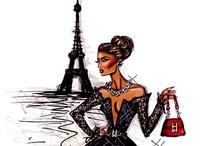 parisian women #PFW / #PFW and Paris Street Style + NYFW + LFW + MFW See also http://www.pinterest.com/elegantes/people-about-fashion-pfw/ / by elegantes75
