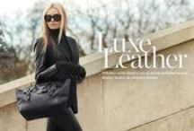 leather for elegantes / Leather clothes, full leather look for elegant women / by elegantes75