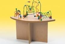 Kinderhoek wachtkamer / Speeltafelwinkel.nl  Speelmeubels voor het inrichten van de kinderhoek in de wachtkamer of wachtruimte van een ziekenhuis, tandart of huisarts.