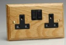 Wooden Switches & Sockets / A selection of our wooden switches & sockets!