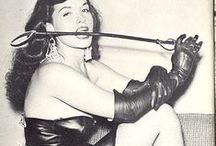 vintage pinups and lingerie / Bettie Page and Cie / by elegantes75