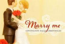 Marry Me: Covington Falls Chronicles (Book 1) / Welcome to the fictional Southern town of Covington Falls, Georgia from my book, MARRY ME. (I imagine it might look like these pictures.