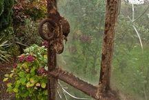 Through a window / by Sue Brannlund