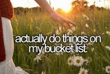 Life Goals / What I want to do and accomplished in life(: / by Alicia ♡♥