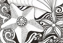 Coloring 4 Adults / Mostly detailed or more difficult pictures for adults to print and color, but some of them wouldn't be too difficult for kids...it's up to you to make that decision. Coloring for adults can be soothing and help decrease anxiety. You can color with colored pencils, markers, or crayons. Focusing your attention on what you are coloring can help distract your thoughts from whatever may be bothering you; or you can color just because it's fun! / by Michelle S