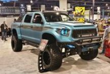 SEMA Show Tacomas & Friends / PureTacom joined the masses at the Las Vegas SEMA show this year.  These are some of our favorite photos.