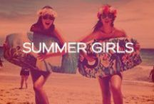 Summer Girls <3 / by Red Carter Swim