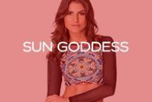 Resort 15 - Sun Goddess <3 / @Redcarterswim #SunGoddess / by Red Carter Swim