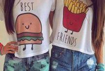 Barátság / Barátok, barátnők, haverok, állatok