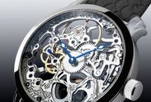 #Skeleton Watch XXL by Theorema modell / See (Noble-watches.com) Stainless steel made Skeleton Watches - Made in Germany.