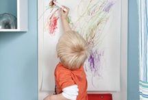 Theo livre e criativo / Espaços que favorecem autonomia de crianças