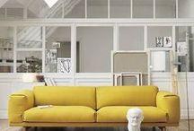 COLOR: YELLOW / el amarillo aporta luz, optimismo, vitalidad, juventud... todo lo que necesitas en tu casa de este color en el FaceBlog de Horasdluz http://horasdluz.com/ideas-para-decorar-tu-casa-online/