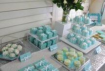 Tiffanys Style Party / Seguro que quieres dar una fiesta y no sabes por donde empezar. Te enseñamos la mas gamurosa, la Tiffanys Party! Siguenos en nuestro faceblog http://horasdluz.com/ideas-para-decorar-tu-casa-online/