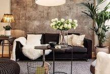 H&M neutral home / Para la tendencia H&M vamos con los colores naturales, animals prints, rayas, blancos, negros, marrones... síguenos en nuestro Faceblog de horasdluz https://www.facebook.com/HorasdluzFaceblog/ http://horasdluz.com/asesoria