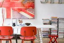 COLOR: RED O ROJO PASION / http://horasdluz.com/ideas-para-decorar-tu-casa-online/
