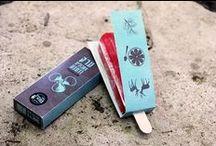 """""""Cool"""" Branding & Packaging / Ice Pop Packaging & Branding"""
