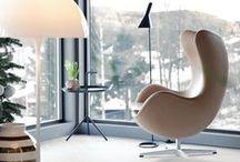 Interiors / Mielenkiintoisia tiloja ja sisustuksia.
