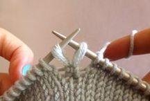 Knitting -  tips & tutorials