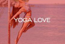 Yoga Love <3 / #yoga #yogi #yogalover #fitspo #workout #yogaeverywhere / by Red Carter Swim