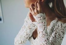 Wedding dresses / The most beautiful wedding dresses. Stunning details of lace, embroidery, and organza.