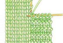Knitting - Living on the edge