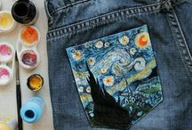 Painted clothes