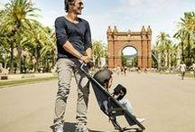 Poussettes / Strollers / Prams / Choix de poussettes / A nice selection of strollers & prams.