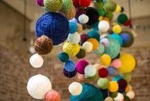DIY Fabric and yarn