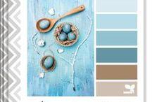 Kleur paletten ( Haakinspiratie?) / kleurcombinaties