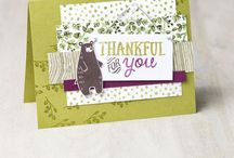 Stampin' Up! Forest friends, acorns & autumn