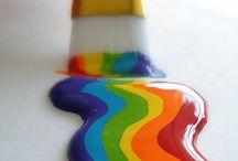 R a i n b o w /  All the beautiful rainbows