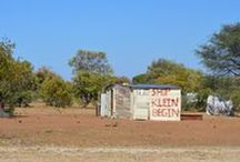 Cuca shops Namibia / I'd like to have the time to photograph all the cuca shops in Namibia...