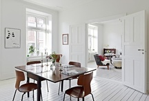 Dining / Dining rooms, dining tables and chairs, open-plan kitchen/diner.