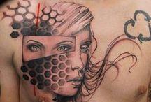Black & Grey tattoos / Some black n grey work I do