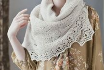 · Knitting lace ·