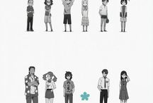 AnoHana / Treasure every person in your life that you love and always apologize that day because you never know what is waiting for you around the corner ...