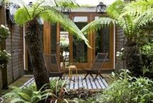 Garden and Courtyards / Plants and outdoor living space can be dull if not designed right These are areas you normally spend a lot of time in, so don't be afraid to add some foliage and make is special.
