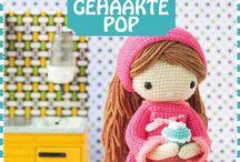 Mijn gehaakte pop ~ Crochet doll ~ Ma poupée au crochet ~ Meine Lieblingspuppe zum Häkeln ~ Mi muñeca de ganchillo by Isabelle Kessedjian / by Chantal van Eck