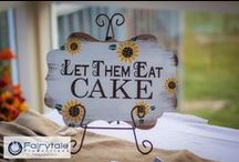 Let Us Eat Cake! / Some of our favorite cakes from our clients' weddings!