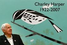 Painters - Charley Harper / Charley Harper (August 4, 1922 – June 10, 2007) was a American Modernist artist, known for his highly stylised wildlife illustrations. He captured the essence of his subjects with the fewest possible visual elements. When asked to describe his unique visual style, he said: when I look at...wildlife...I don't see the feathers....I just count the wings. I see exciting shapes, colour combinations, patterns, textures, fascinating behavior and endless possibilities for making interesting pictures.