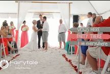 Summer & Beach Weddings / Summer and beach weddings photographed by Fairytale Productions in Michigan, Ohio, and Florida
