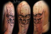 Skull tattoos / #skull #skulls