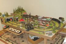 Trains / models / boards / ect... / by Debbie